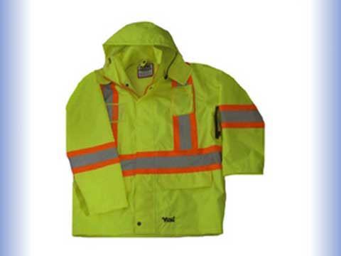 reflective safety jacket safety clothing of man