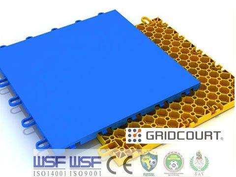 lantai futsal grid court futsal court field flooring