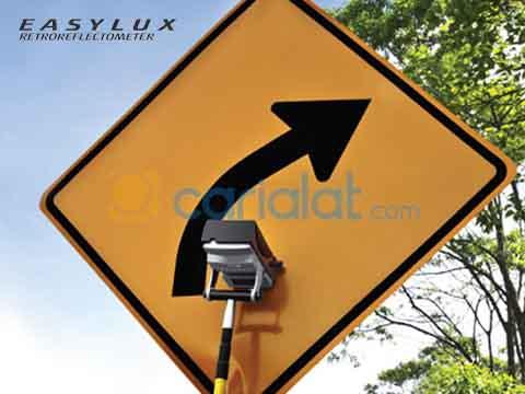 mini retroreflectometer rambu lalu lintas