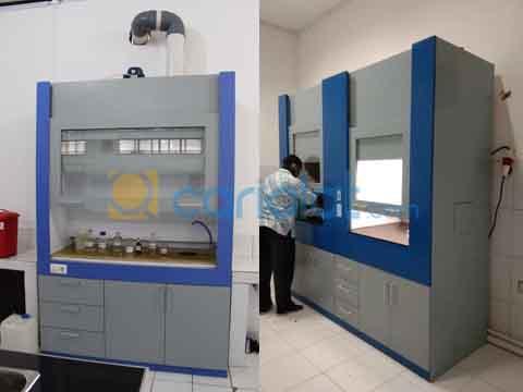 lemari asam laboratorium