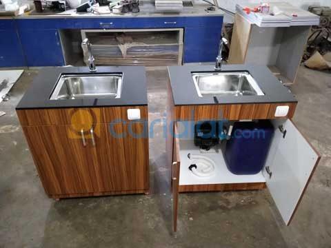 meja wastafel laboratorium
