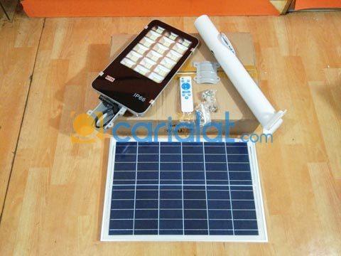 Lampu Jalan PJU Solar Cell 100W